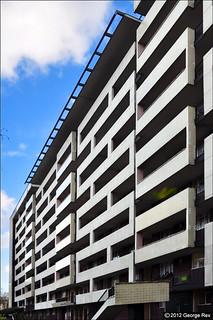 Hallfield / Caernarvon facade