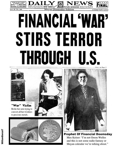 FINANCIAL WAR OF THE WORLDS by Colonel Flick