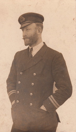Portrait of a naval officer (c.1918)