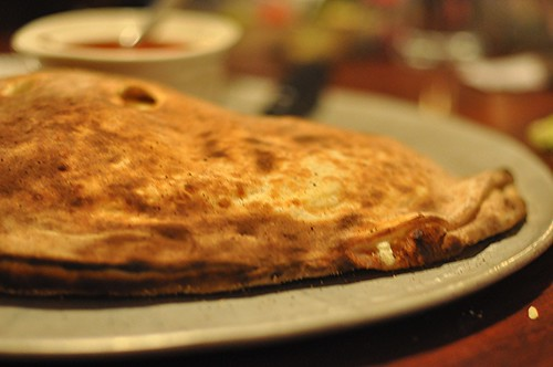 Eli's Calzone Close up