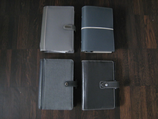 Filofax Colours (5): Grey