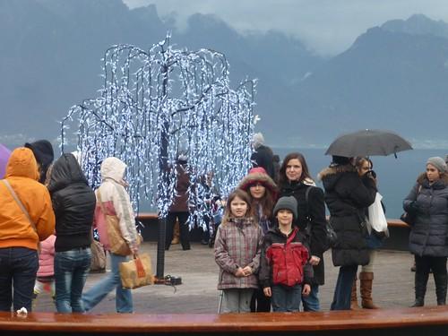 Le marché de Noël de Montreux