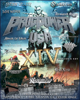 Official 2013 ProgPower USA Poster