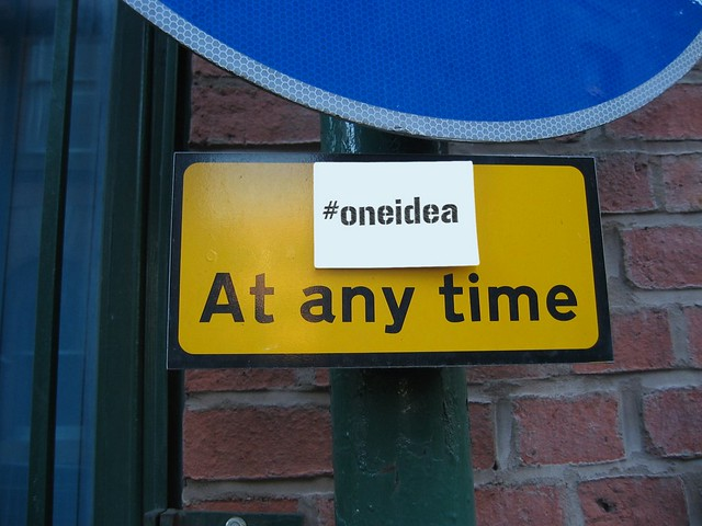 Fix This Public Space With #oneidea