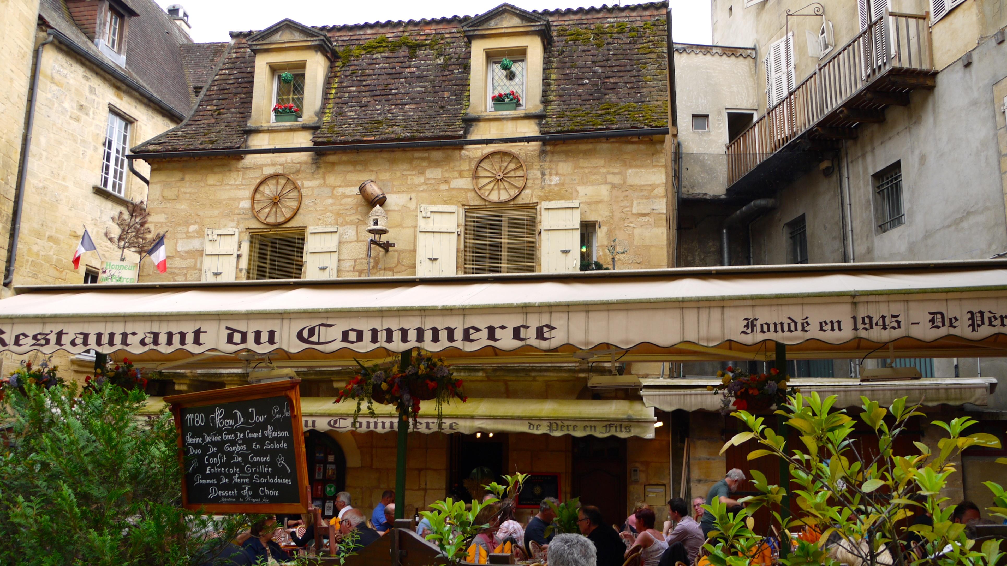 Restaurant Sarlat Rue Gabriel Tarde