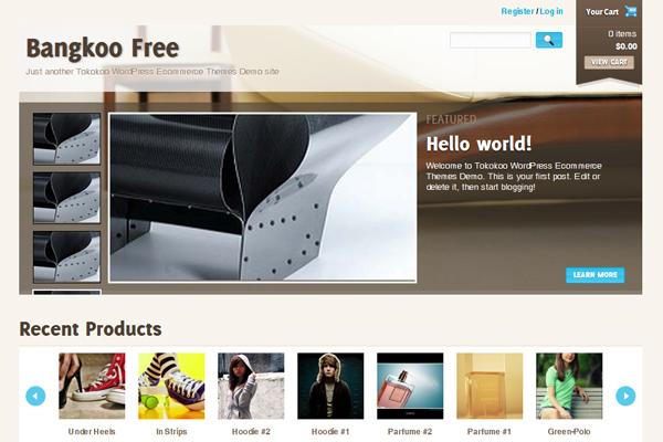 Theme miễn phí dành cho WP e-Commerce
