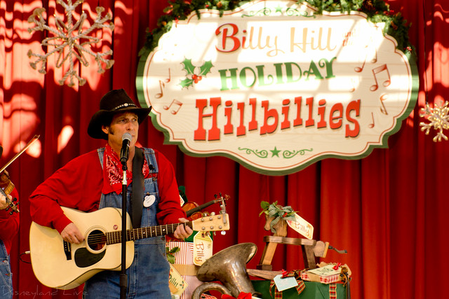 BIll Hill and the Holiday Hillbillies