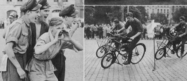 Svajerløb - Cargo Bike Race on Israels Plads