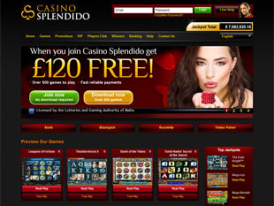 Casino Splendido Home
