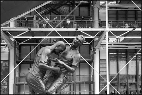 Kopstoot Zidane by hans van egdom
