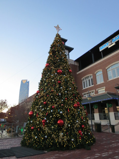 Bricktown Christmas Tree