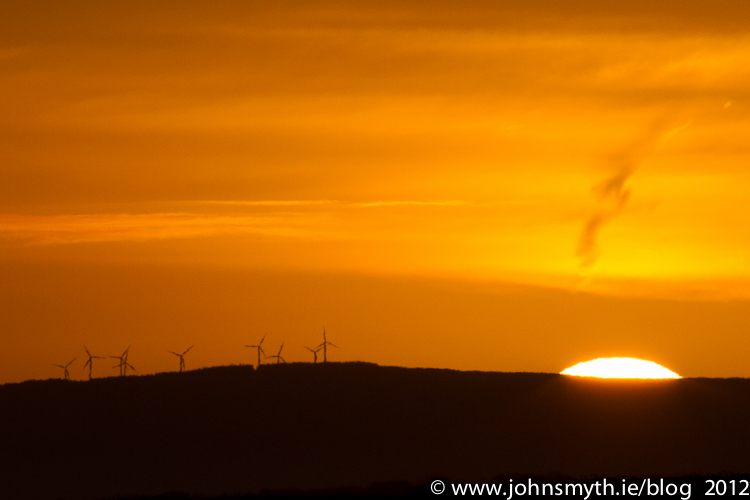 Turbine sunrise