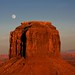 Monument Valley Moonrise by Cliff Stone