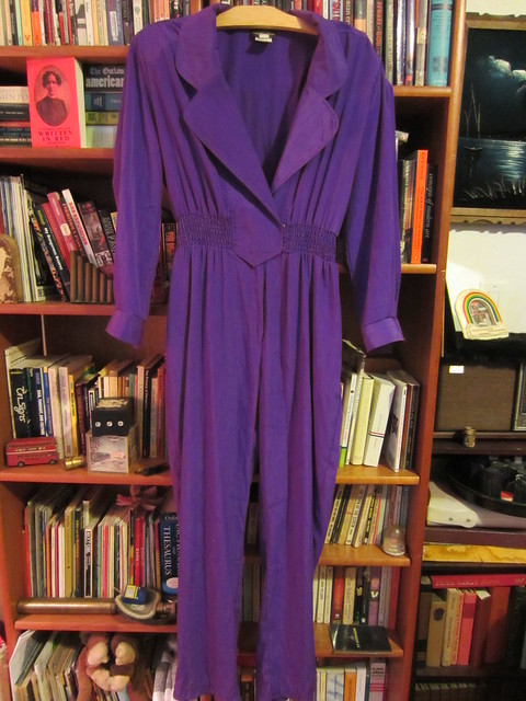 XL/1X Vintage Purple Jumpsuit $40 (#34)