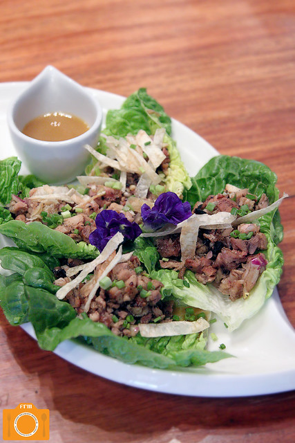 Chef Tatung Chicken Sisig Lettuce Wraps