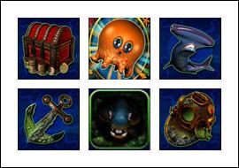 free Octopays slot game symbols