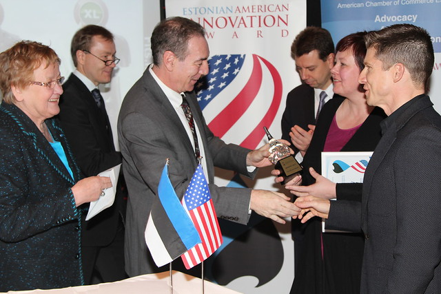 Estonian American Innovation Award Ceremony, December 5, 2012