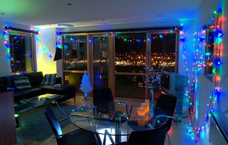 Festive Lights in my Living Area