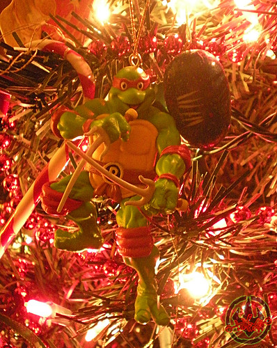 "AMERICAN GREETINGS :: TEENAGE MUTANT NINJA TURTLES - ""RAPHAEL"" Ornament x (( 2012 ))"