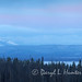 Yellowstone Lake Super Moon Sunrise