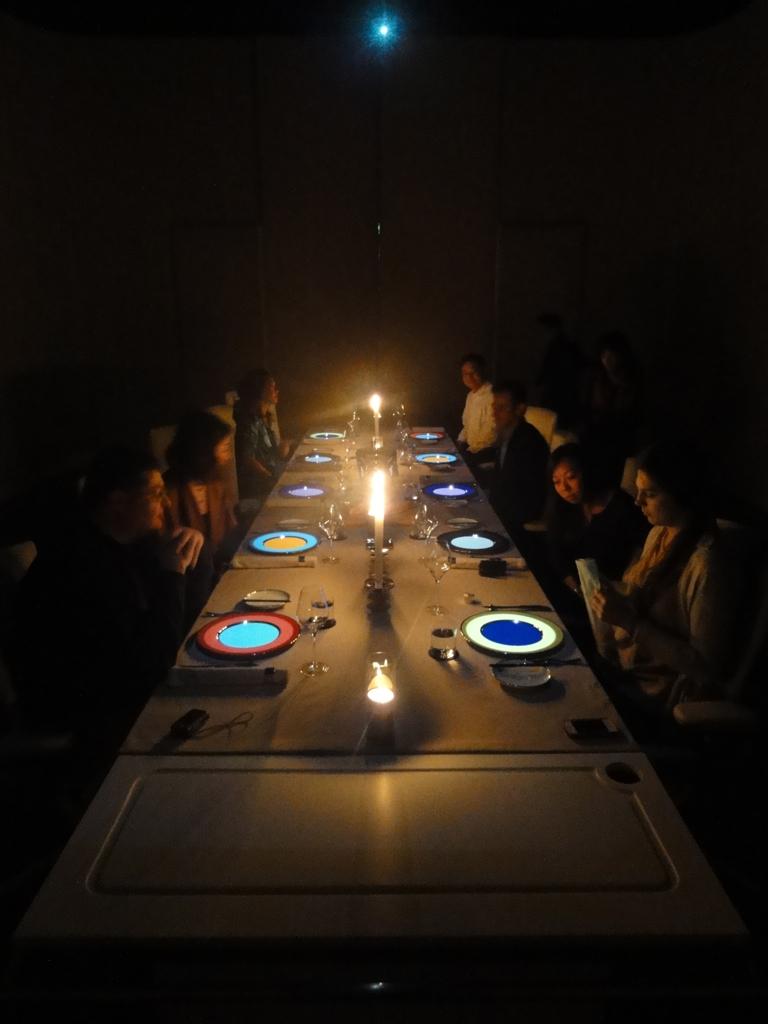 Dinner at Ultraviolet in Shanghai