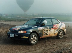 Hyundai Accent MVi GrpA rally car - Jimmy McRae / Rob Arthur - 1997 Network Q RAC Rally