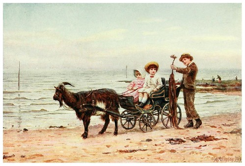 015- El carrito de la cabra-Happy England as painted by Helen Allingham-1903