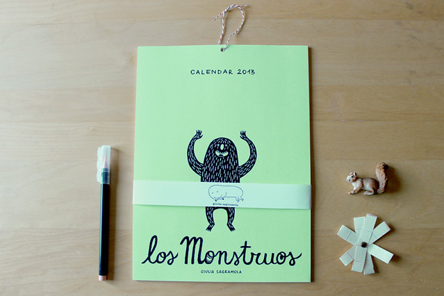 Los Monstruos / 2013 Calendar & Fanzine