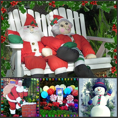 Mr. and Mrs. Claus Collage