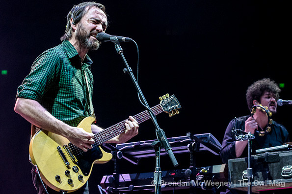 The Shins @ Oracle Arena, Oakland 12/7/12