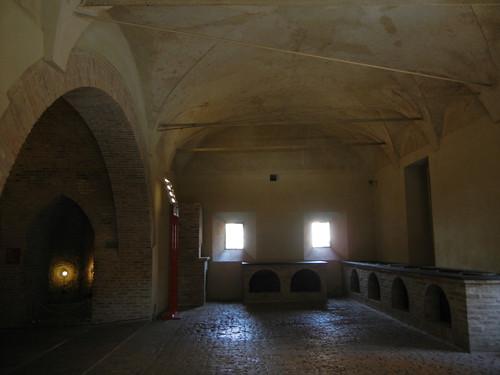 DSCN4097 _ Kitchen of Castello Estense, Ferrara, 17 October