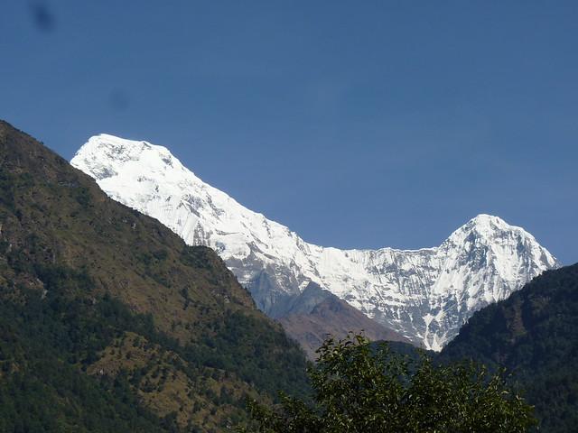 The beautiful 'Annapurna south peak' . . .