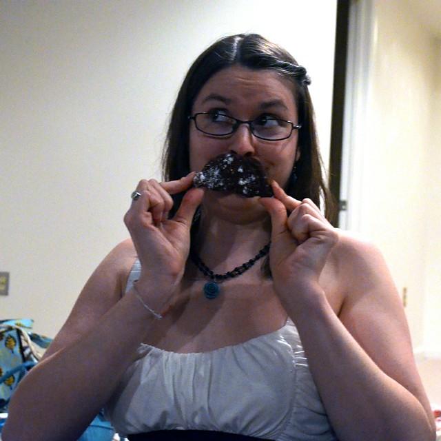 Skye mustache