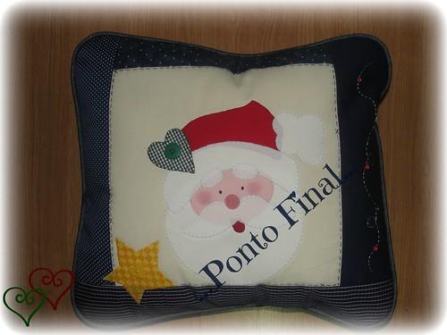 ...Almofada de Natal... by Ponto Final - Patchwork