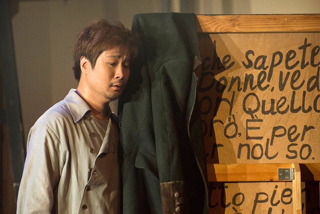 Jihoon Kim as Colline in La bohème © ROH / Richard H Smith 2012