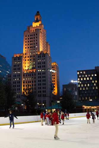 Bank of America Ice Skating by GoProvidenceRI via I {heart} Rhody