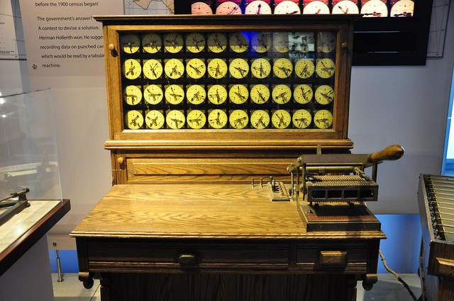 Hollerith Electric Tabulating System replica
