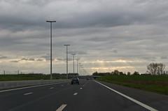 Rayons de soleil sur l'E40 en direction de Bruxelles