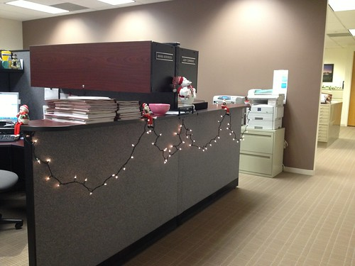 An office Christmas!
