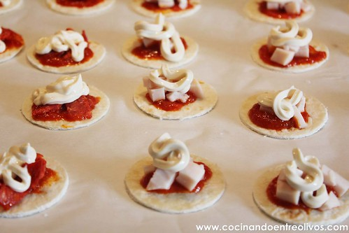 Minipizzas crujientes con queso cocina President (11)