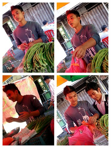 Anatomy of a Vegetable Seller