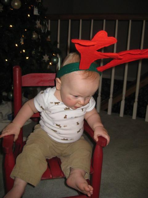 reindeer baby