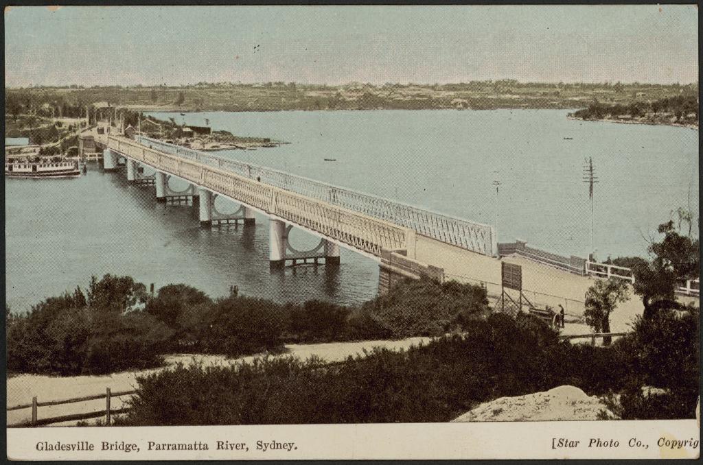 Gladesville Bridge, Parramatta River, Sydney