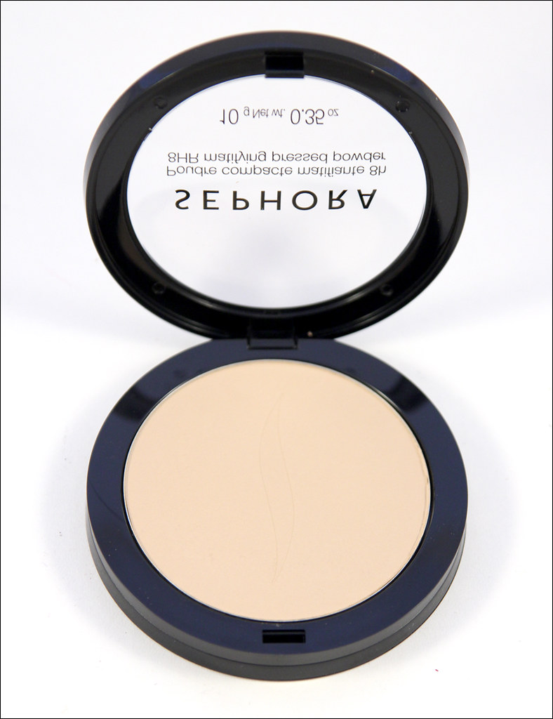 Sephora 8HR matifying pressed powder2