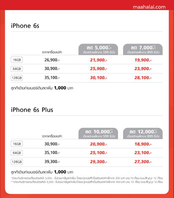 iPhone 6 true promotion