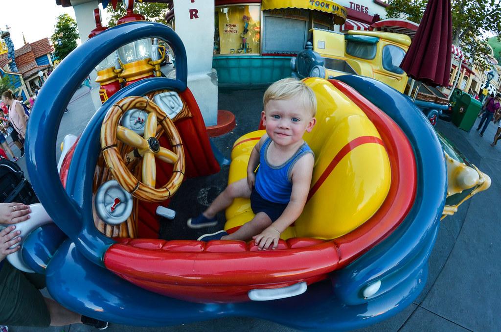 Wyatt car in Toontown