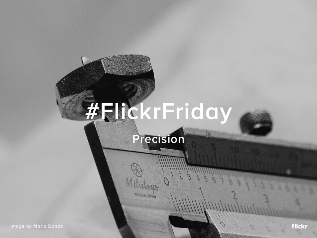 #FlickrFriday - Precision
