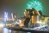 Museo Guggenheim en fiestas