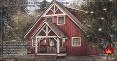Trompe Loeil - Gillian Cottages & Schoolhouse Benches for Uber September