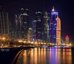 Good Night #Doha #Qatar 📷👤@ammar_abdelhakeem Like ❤ Comment 👇 Tag 👬 TAG YOUR Awesome Photos 👉 #Qatarism